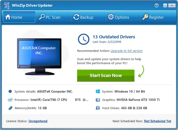 Winzip Driver Updater Software Download From Winzip